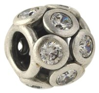 PANDORA Pandora Whimsical Lights Clear Cz Charm - Sterling Silver Bead 791153cz