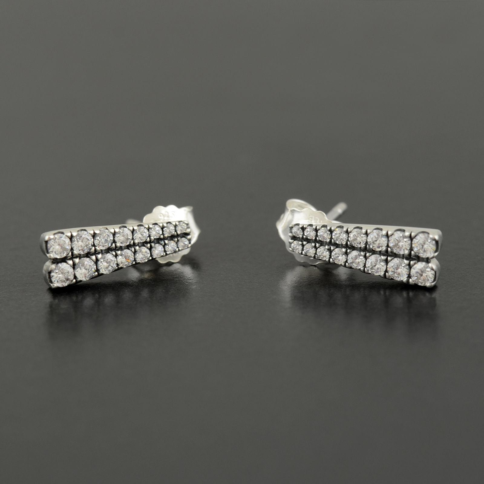 Czech Pandora Shooting Stars Stud Earrings Clear Cz 296367cz 83bfb E428f