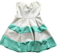 Papaya short dress Mint on Tradesy