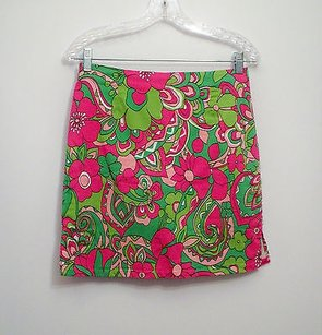 Pappagallo Skort Golf Skirt Pink