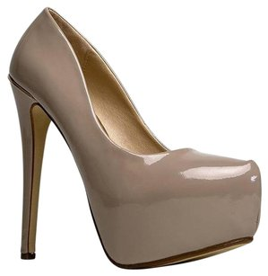 Paprika Beige Pumps