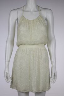 Parker Womens Sequins Dress