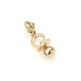 Pasquale Bruni Pasquale Bruni 18k Rose Gold Pacifier Charm-nwt Box Cert