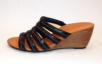 Paul Green Pasadena Slide Black Sandals