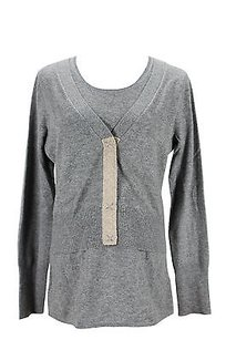 PAULE KA Womens Cardigan Sweater
