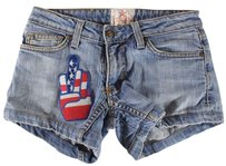 People's Liberation 26 Patched Shorts