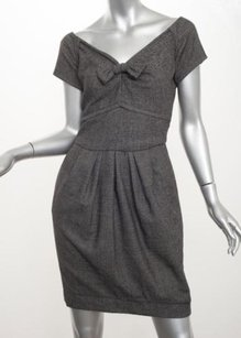 Peter Som Womens Charcoal Dress