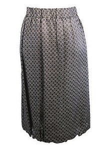 Philosophy di Alberta Ferretti Philo Geometric Womens Skirt gray