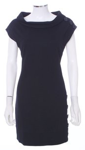Phoebe Couture short dress Black Cotton Embellished Knit Lbd on Tradesy