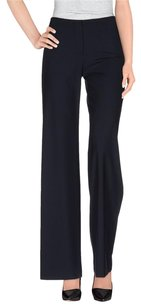 Piazza Sempione Classic Wide Leg Pants Navy