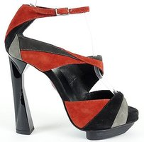 Pierre Hardy Strappy Black / Red Platforms
