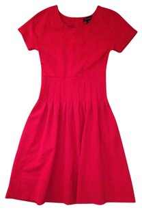 Pink Tartan Slimming Flattering Retro Dress