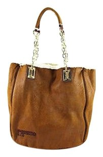 Pinko Womens Suede Tote in brown
