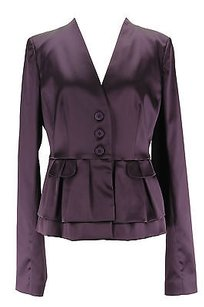 Pinko Pinko Womens Blazer Purple Acetate