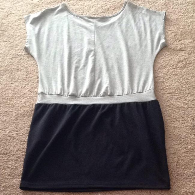 Poetry Clothing short dress Gray/Black on Tradesy