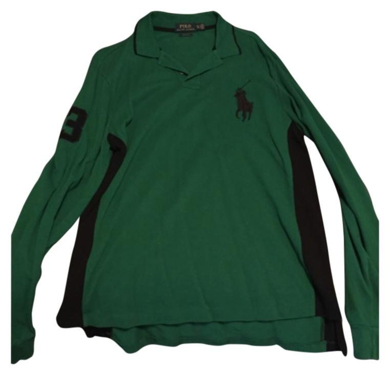 Polo Ralph Lauren Top Green \u0026 black ...