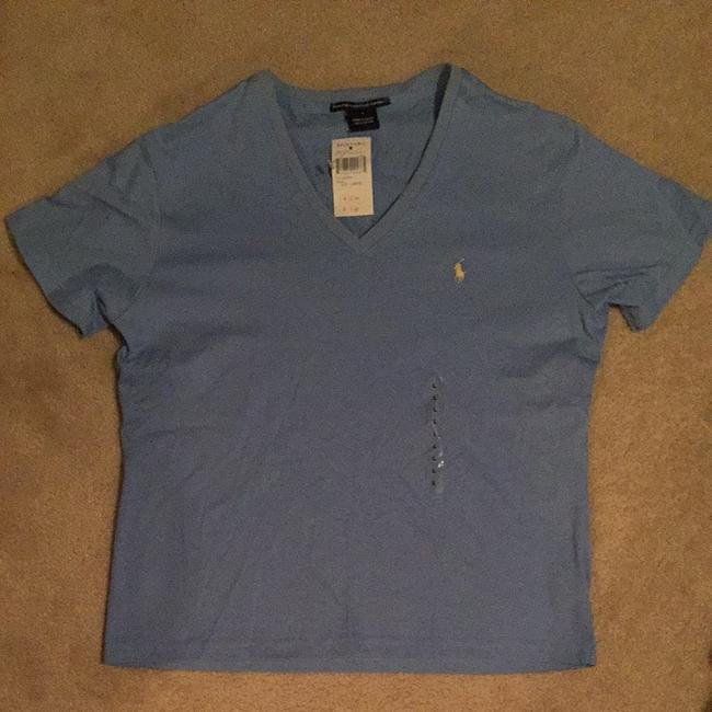 Preload https://item2.tradesy.com/images/polo-ralph-lauren-periwinkle-tee-shirt-size-12-l-1497106-0-0.jpg?width=400&height=650