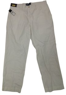Polo Ralph Lauren POLO RALPH LAUREN MEN'S WHITE COTTON (36R) PANTS