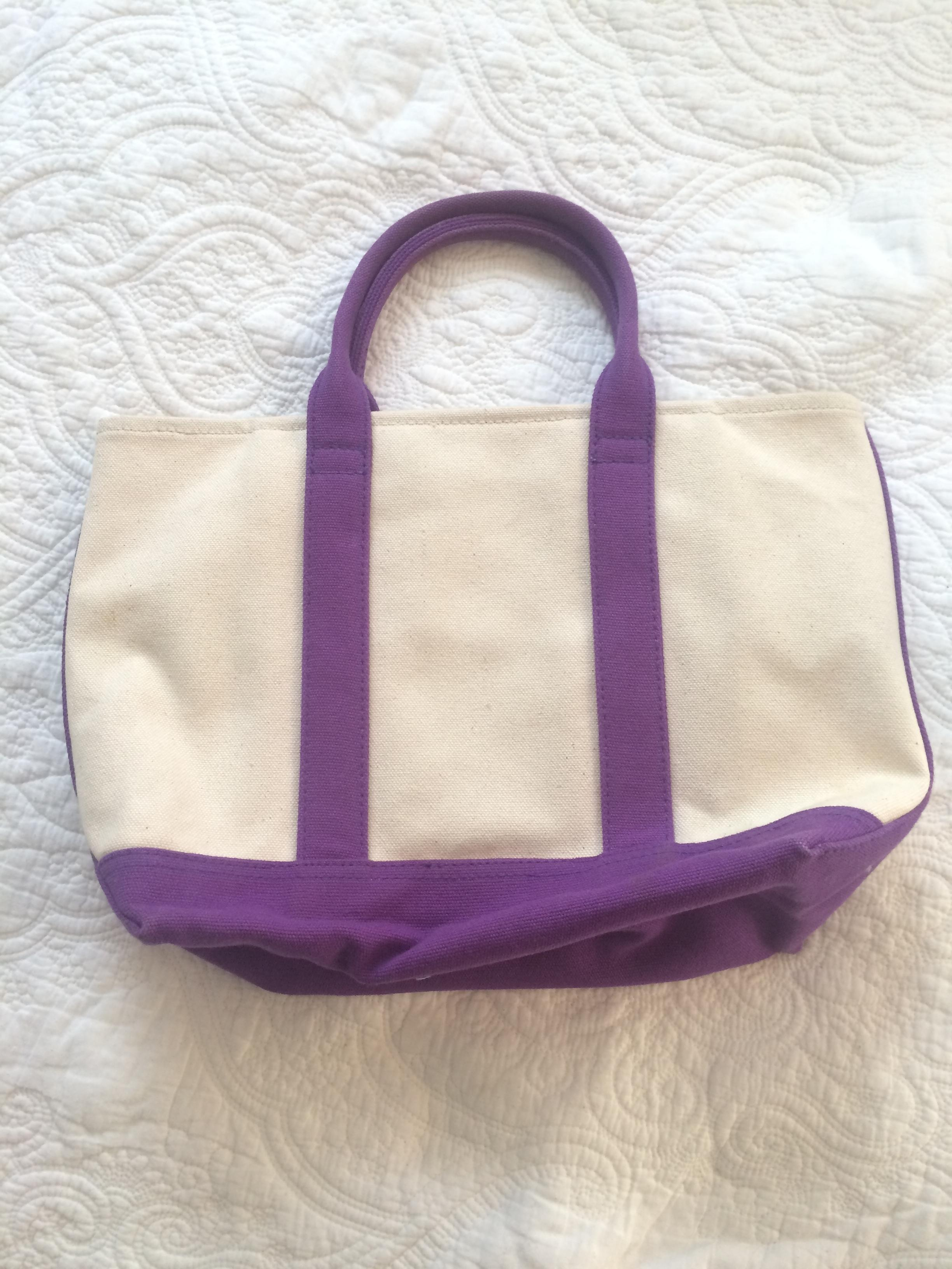 Polo Ralph Lauren Purple Beach Bag | Beach Bags on Sale