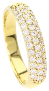 Ponte Vecchio Ponte Vecchio Pav / diamond 18K Yellow Gold Ring US Ring Size: 4.5