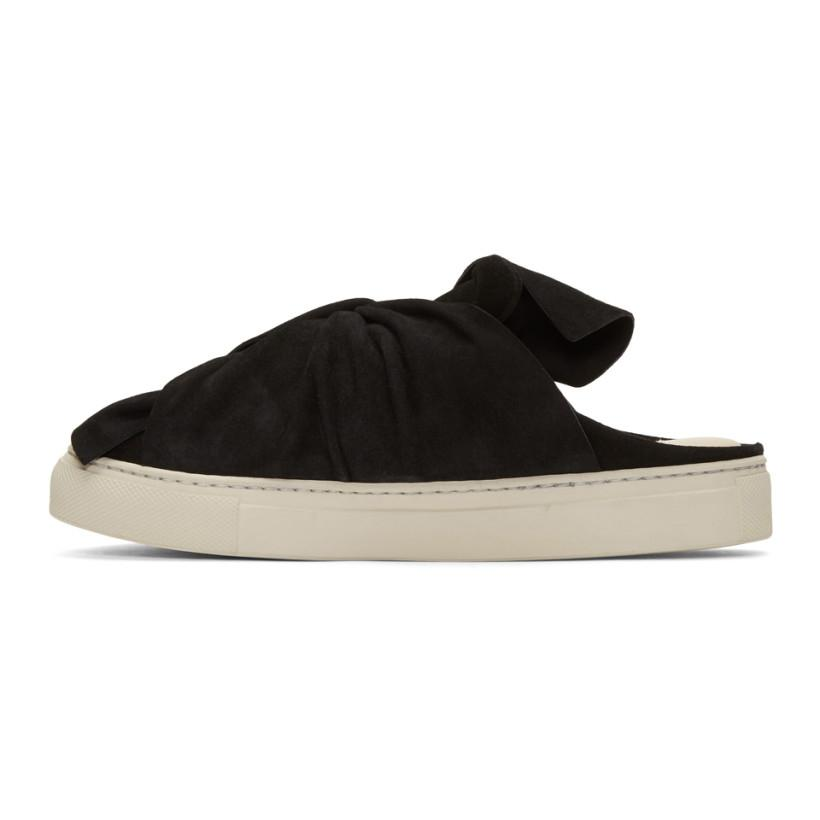 PORTS 1961 Suede Bow Slip-On Sneakers