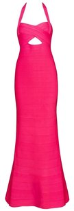 Posh Girl Halter Gown Bandage Special Occassion Dress