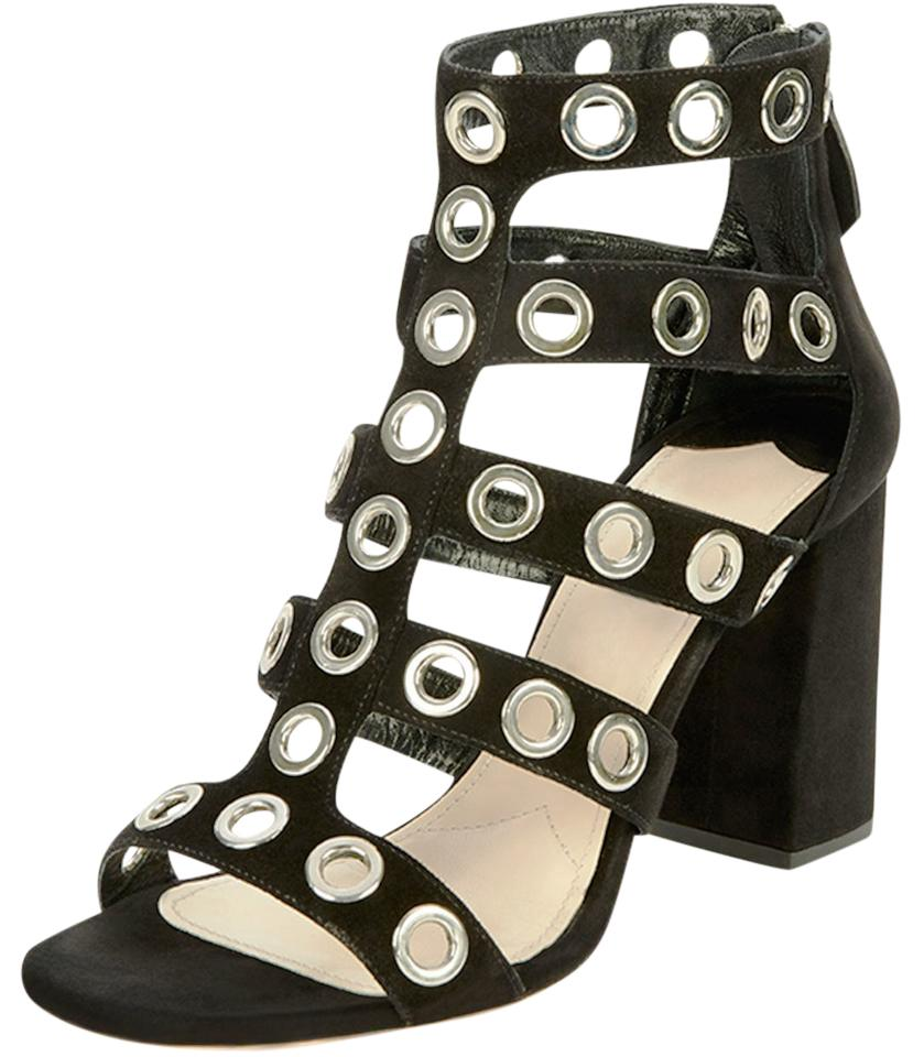 buy cheap with credit card cheap for cheap Prada Patent Leather Cage Sandals buy cheap Inexpensive big sale Wfrovw9R9