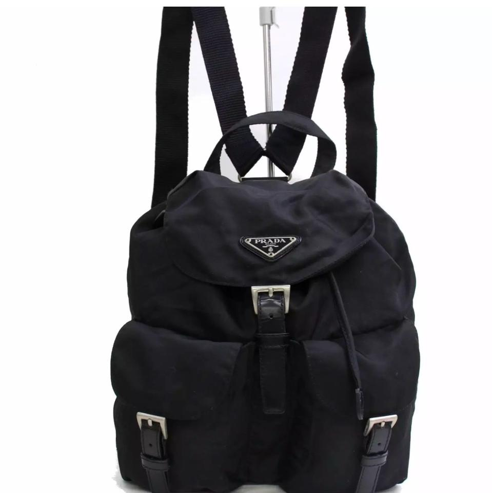 a3c6cf70da81 Prada Black Nylon Backpack- Fenix Toulouse Handball