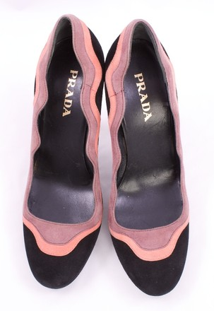 Prada BLACK PINK LAVENDER Pumps