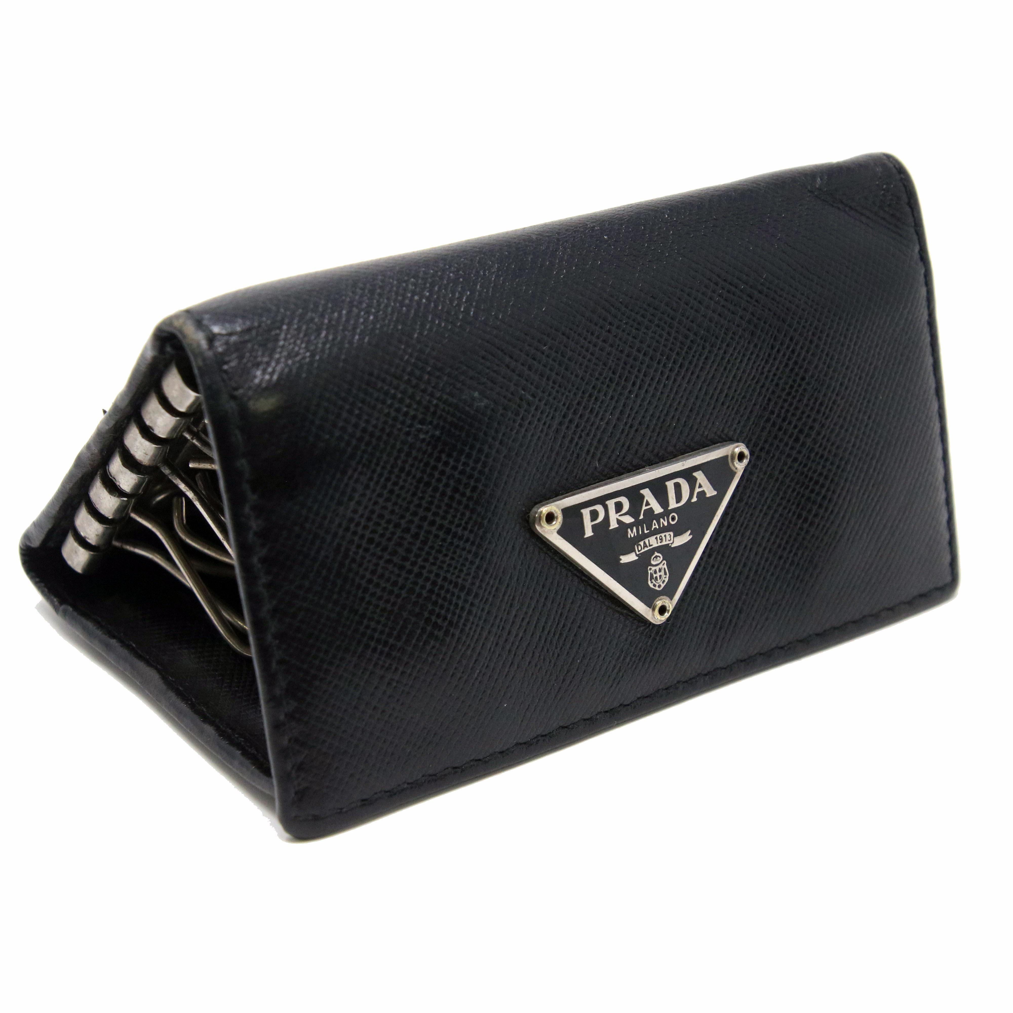 678d40410847 denmark prada saffiano leather keyholder 1m0222 geranio 33b3a e8961;  wholesale prada prada signature saffiano keychain 5 key holder travel case  03de9 9fc23