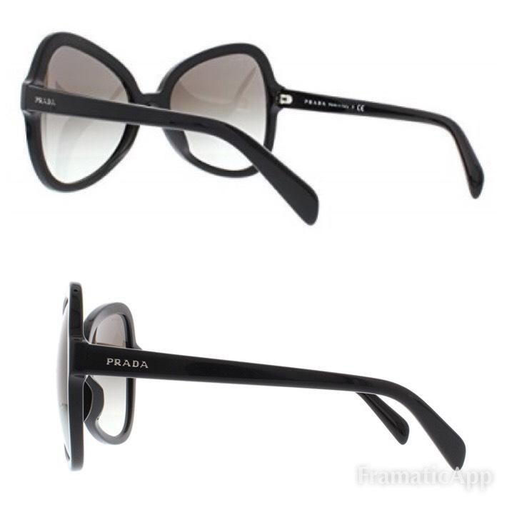 bda2815edeb hot prada 21us womens cats eye sunglasses fd6d6 b7215  canada prada prada  spr 05s oversized butterfly lenses sunglasses. 123456789101112 7e6c5 ad4ef