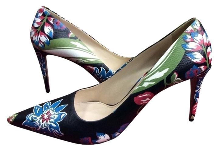 Prada Black/Multi Pumps Size US 9 Regular (M, B)