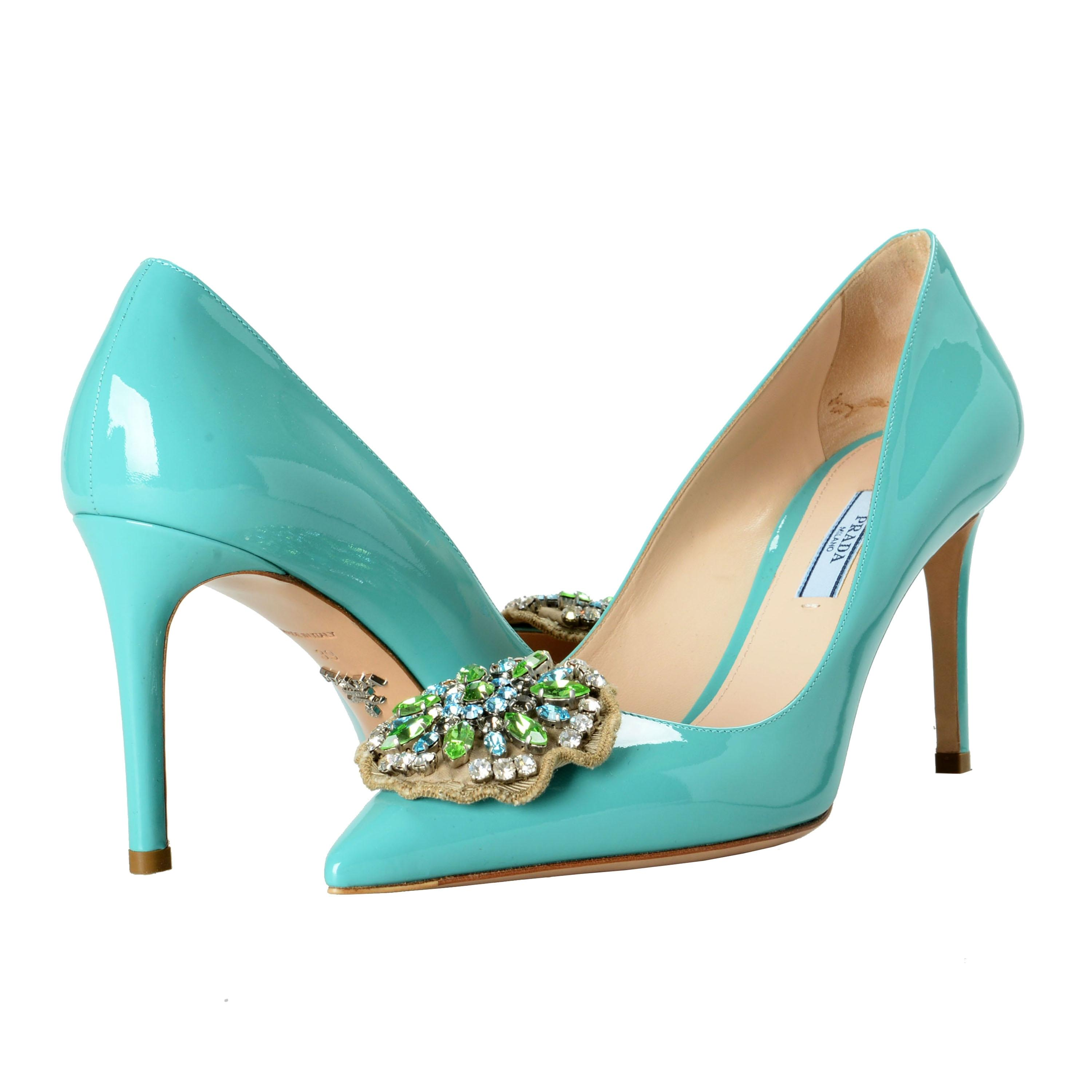 ba913bac22f1bc ... B Prada Blue Shoes-2674 Pumps Pumps Pumps Size US 9 Regular (M