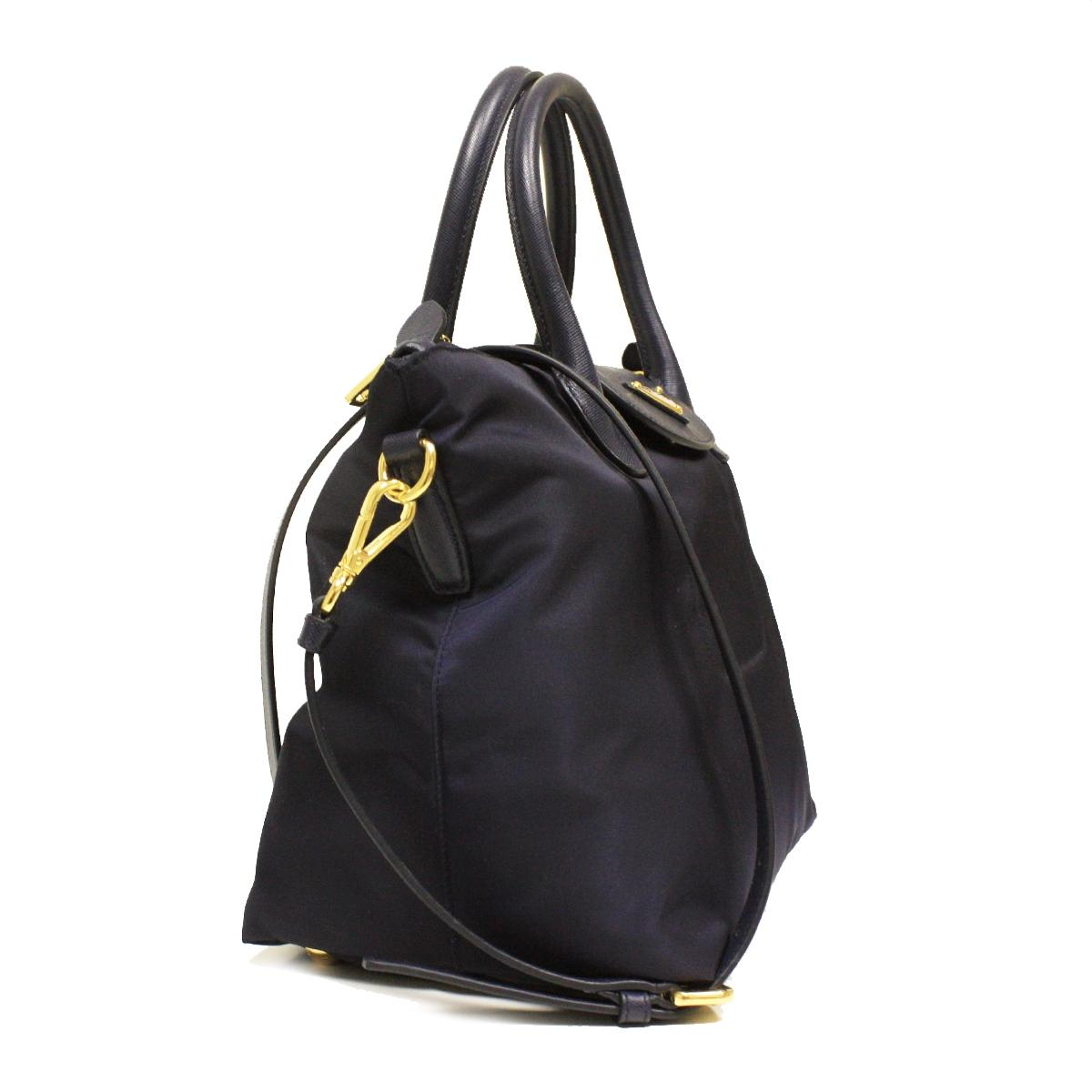 a595a1364a4c ... amazon prada nylon leather tote in black. 12345 9ea6a be24f