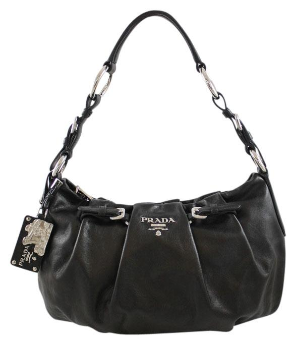 ... norway prada calfskin hobo leather shoulder bag d33f3 c10c4 ... 3861daf7bf