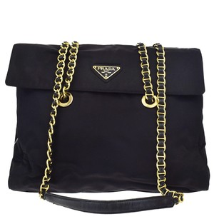Prada Chain Tote Shoulder Bag