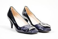 Prada Black Ombre Purple Pumps