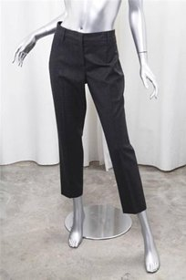 Prada Womens Charcoal Wool Pants