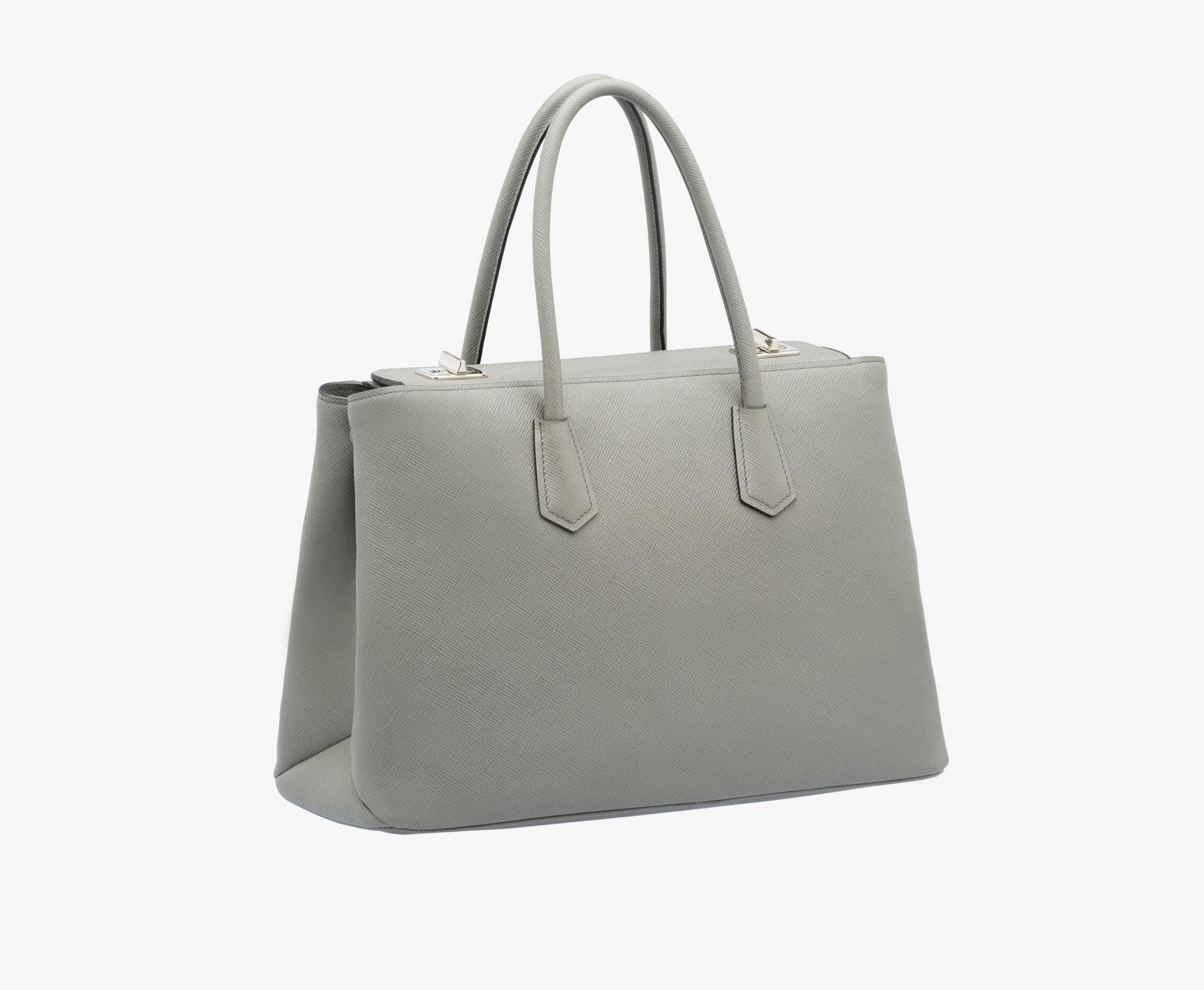 1fe62ada805a ... low cost prada tote in grey marble saffiano cuir leather.  123456789101112 535a4 16cc2