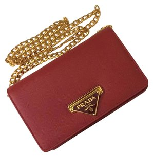 Prada Handbag Chain Wallet Cross Body Bag