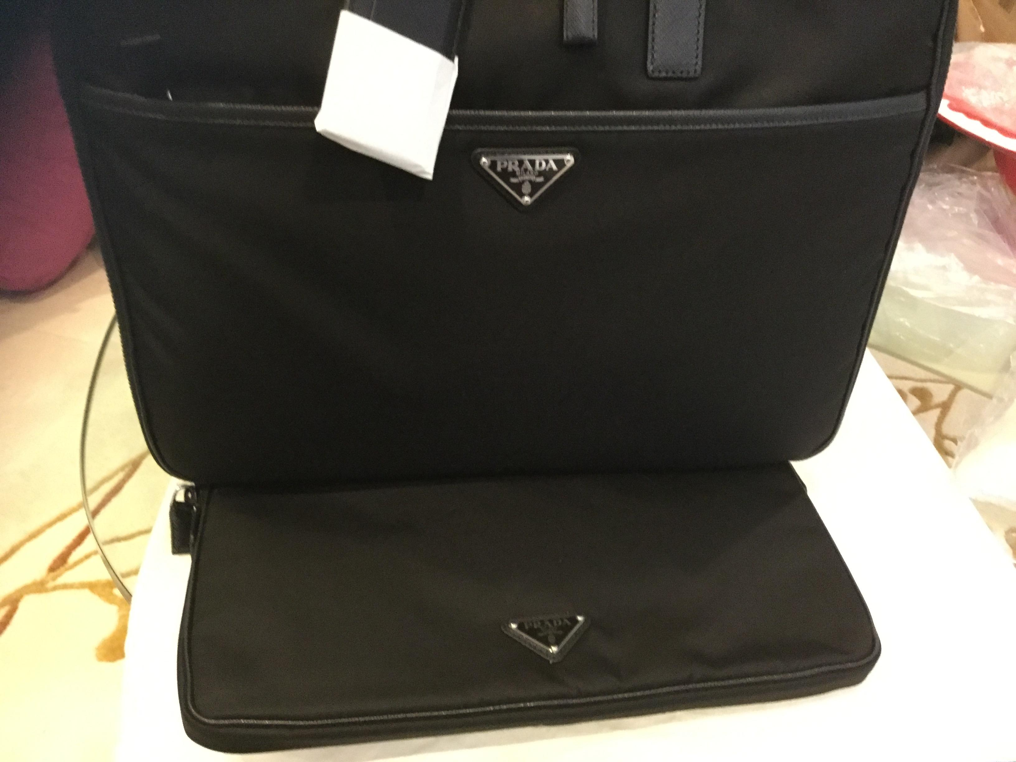 b411e81e09eb low cost prada backpack laptop compartment 0613e 9e996