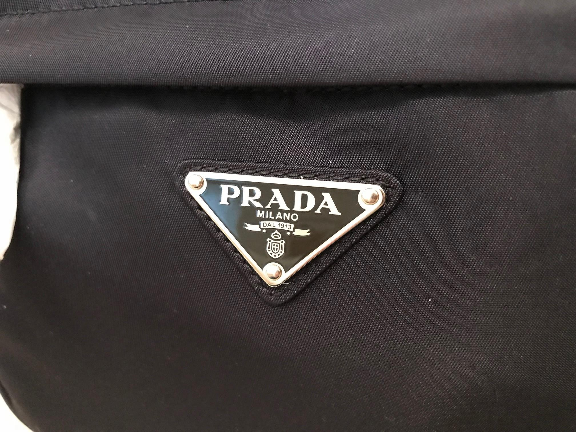 1905a78304df reduced womens prada handbags poshmark e637a a5178  ebay prada new waist  belt navy blue nylon cross body bag tradesy 167c9 4cfb5