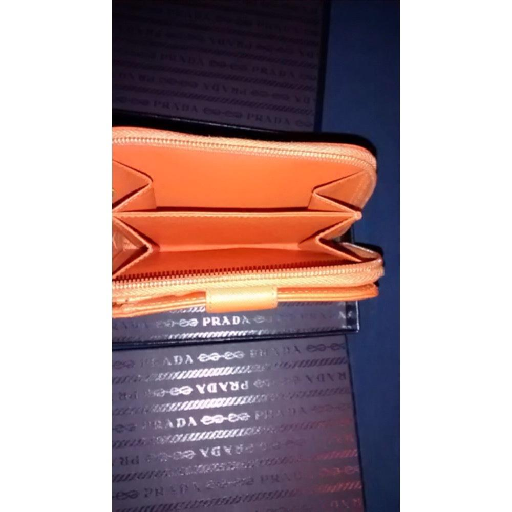 7fc6389b7de1 ... blue orange 78caf 1f1bf; sale prada prada saffiano leather bifold wallet.  123456 c0a50 c4d1d