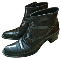 Prada Patent Leather Black Boots