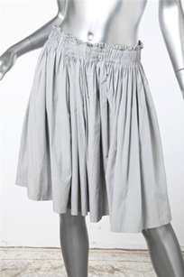 Prada Womens Casual Light Skirt Gray