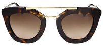 Prada PRADA Catwalk Cinema Brown Gradient Sunglasses PR-09QS-2AU6S1-49