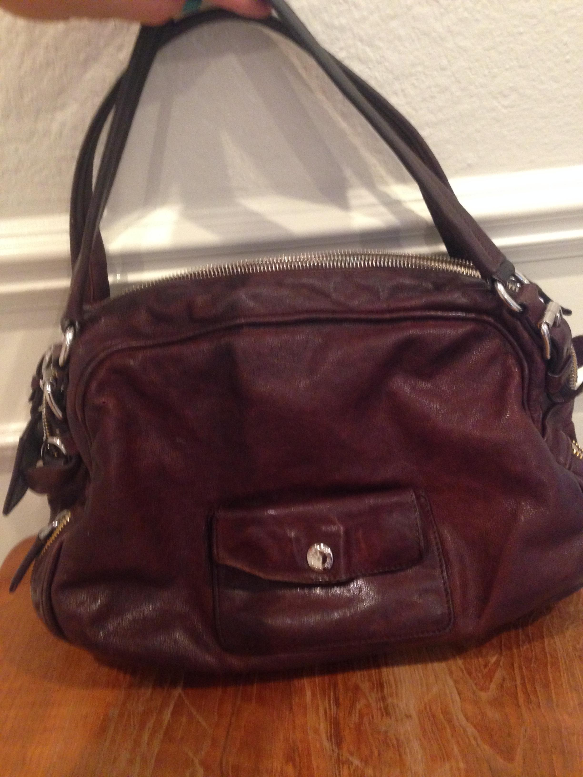 448f0778ccba25 ... czech prada price reduced buffalo leather tote stunning bowler satchel  in brown. 1234567 a118d 02e8c