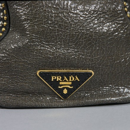 Prada Satchel in Black / Grey