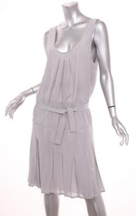 Prada short dress Gray Womens Chiffon on Tradesy