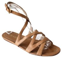 Prada Womens Casual Tan Brown Sandals